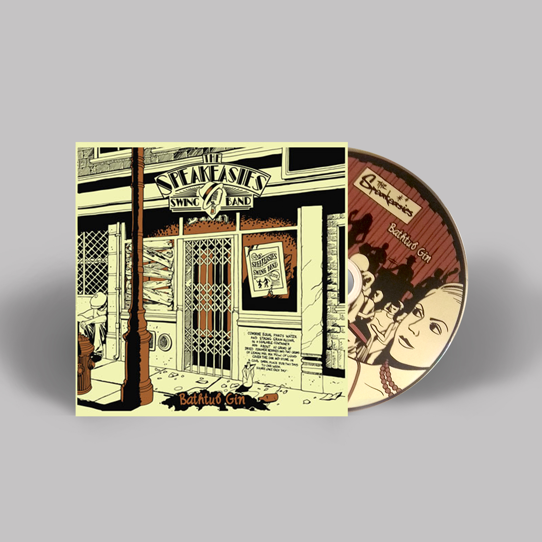 "Get ""Bathtub Gin"" CD, Digipak."